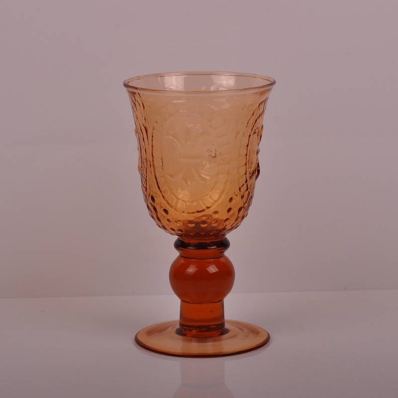 Tall Clear Glass Tealight Candle Holder Tealight Candle
