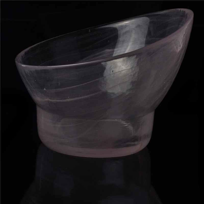 Transparent large glass salad bowl cheap home goods glass for Cheap home goods