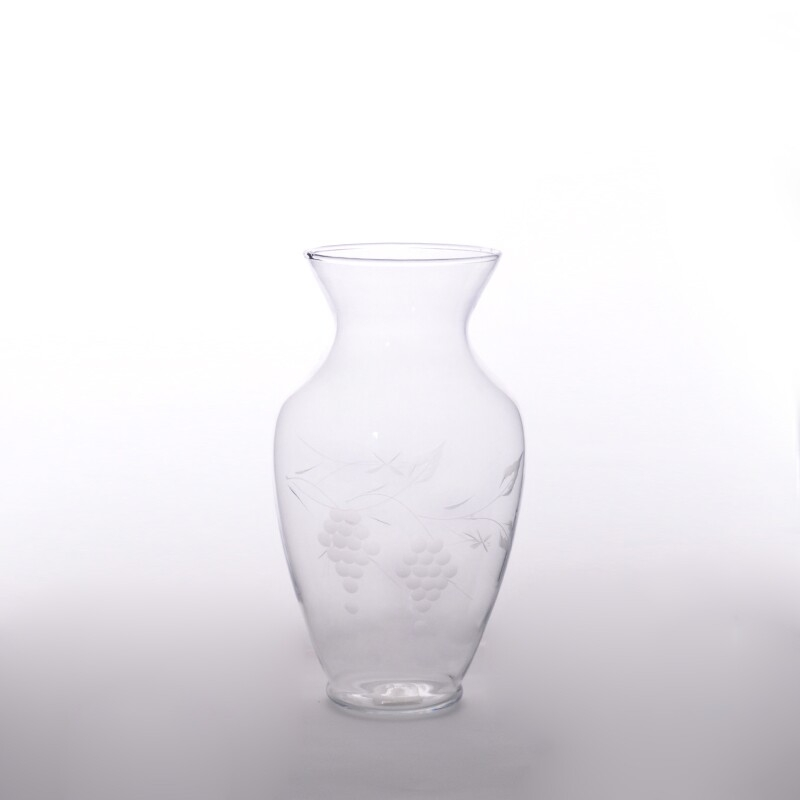 Decorative Glass Product : Unique decorative glass vase mouth blown on