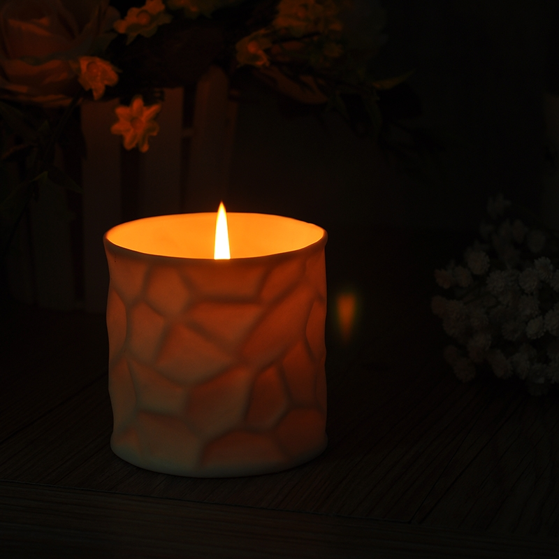 Unique surface votive candle holders candle holder on for Creative candle holders