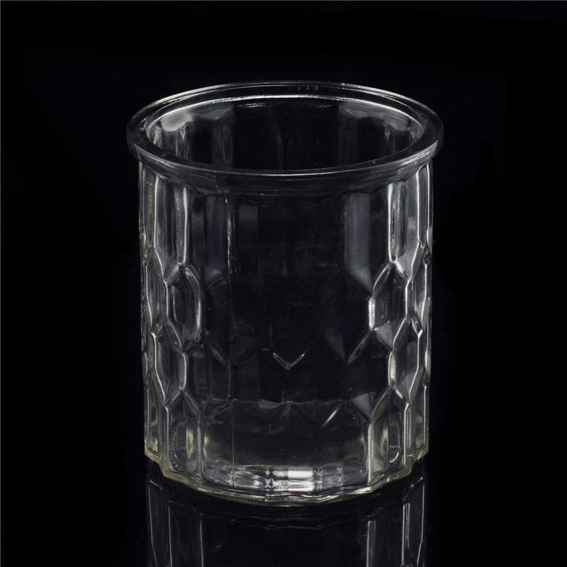 Wholesale Clear Handmade Angel Glass Candle Holde Glass