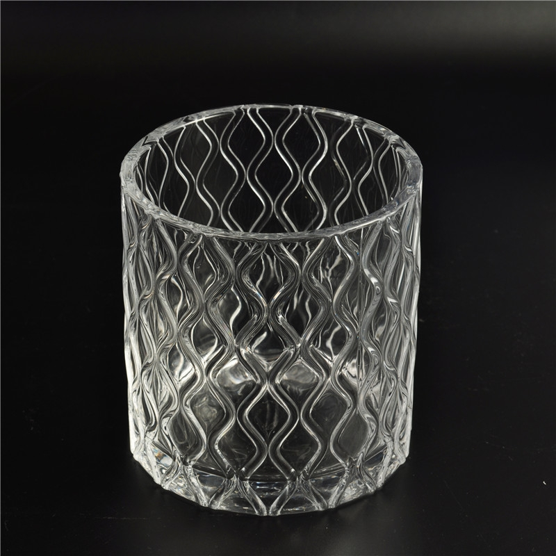 Wholesale Decorative Glass Candle Jar With Lid Interesting Decorative Glass Jars With Lids Wholesale