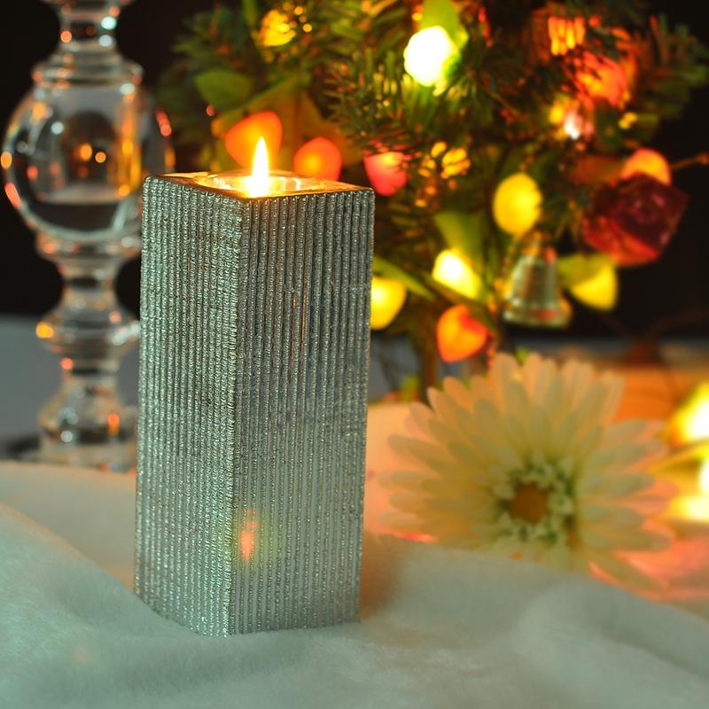 Ceramic Tealight Candle Holder On