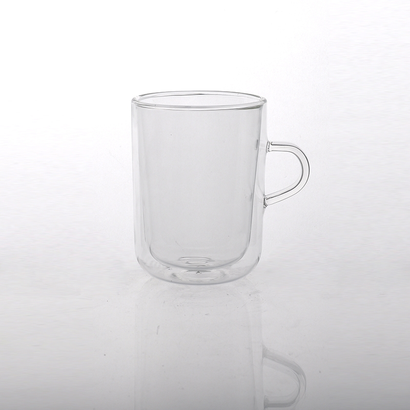 clear tumbler glass borosilicate double wall cup double wall drinking glass. Black Bedroom Furniture Sets. Home Design Ideas