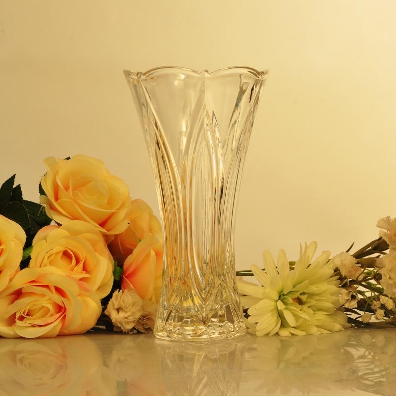 Flower Shape Crystal Glass Flower Vaseflower Glass Vasecutting