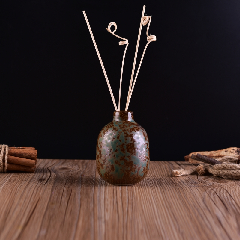 Home decor antique ceramic diffuser bottle on for Decorative diffuser