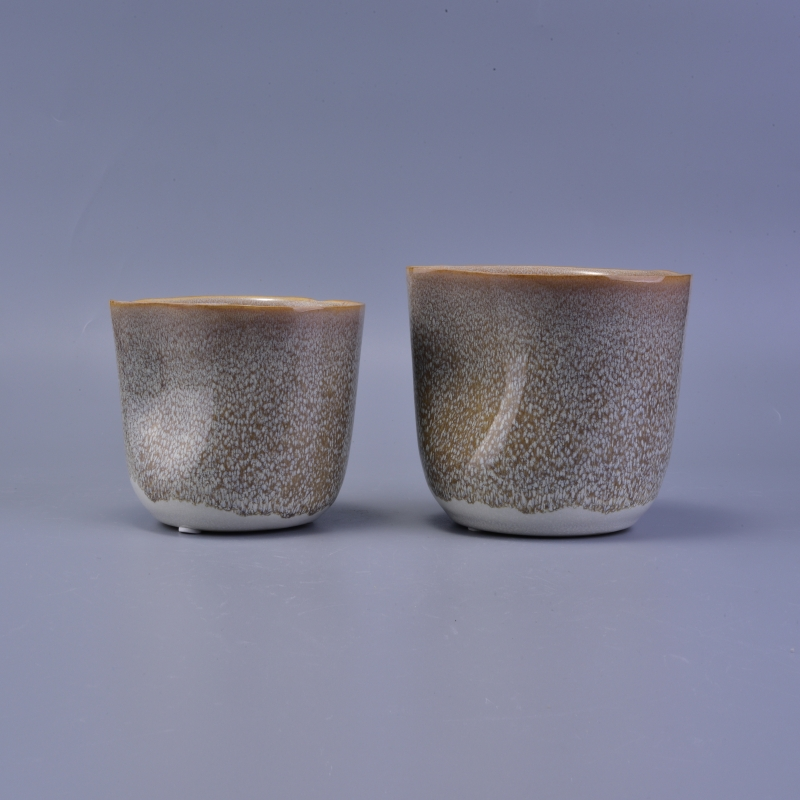 home decor fancy glaze ceramic candle holder on okcandle.com