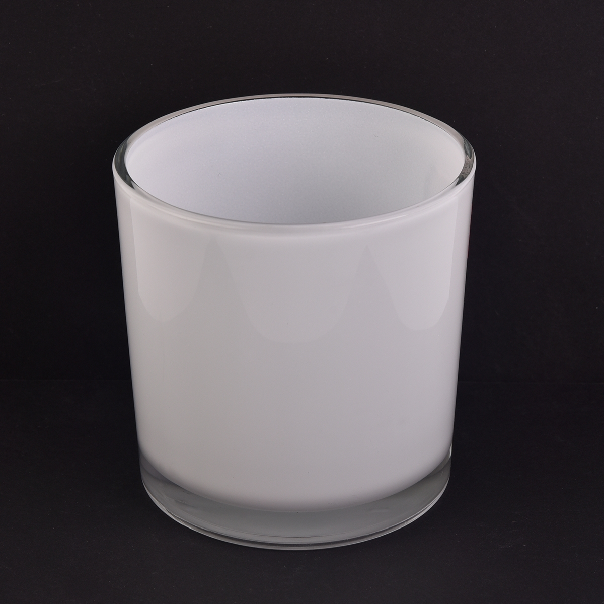 Hot Sales Cylinder Glass Candle Jars For 14 Oz Wax On