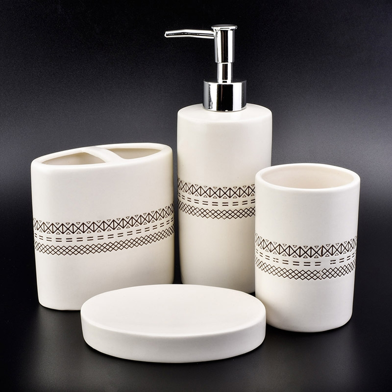 luxury ceramic bathroom accessories sets on okcandle.com