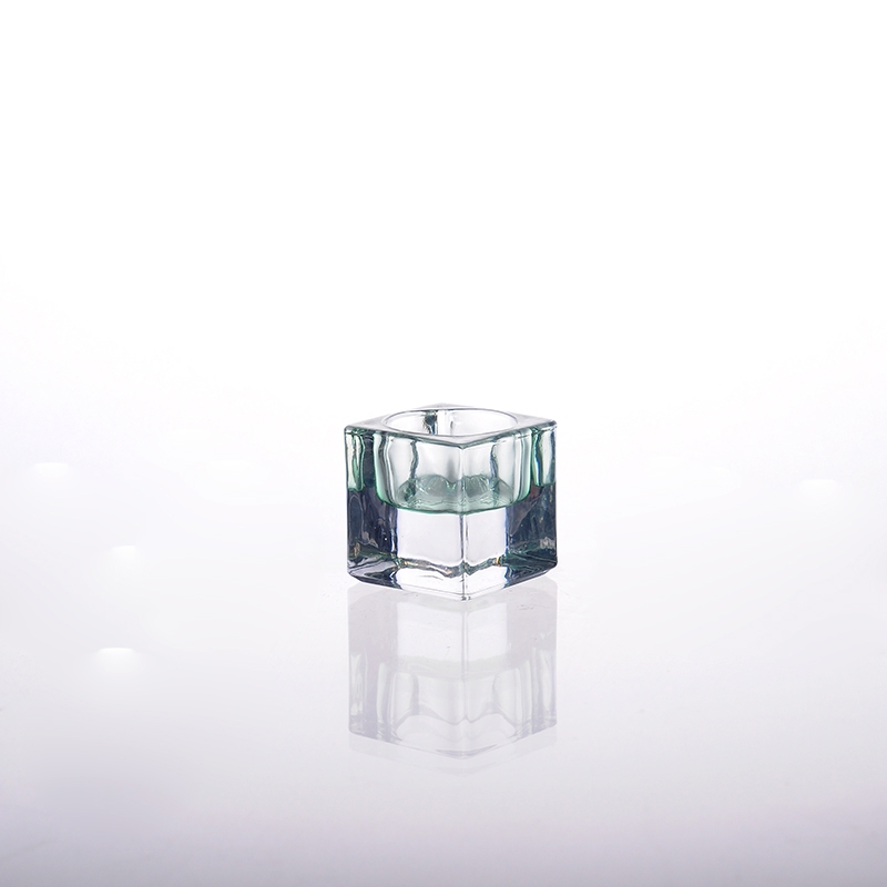 Mini Crystal Glass Candle Holder Votive Glass Jar For