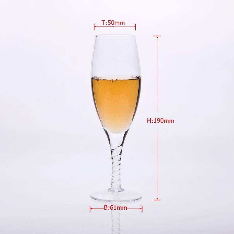 Batang Kaca Champagne Pembekal Pembekal Barangan Kaca