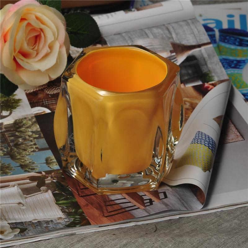 Unique Design Home Decor Delicate Glass Candle Tealight Wholesale Candle Teallight