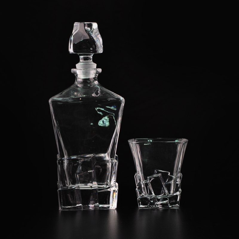 Hand Grenade Glass Whiskey Decanter |Whisky Bottle With Glass