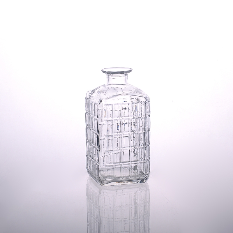 Wholesale China Supplier Square Glass Bottle Glass